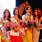 Reshu Malhotra & her team from The artist beauty lounge styles Miss India Uae 2015 Contestant