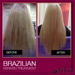 Brazilian Keratin /The Artist Beauty Lounge
