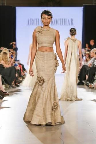 Archana Kochhar at New York Fashion week SS16